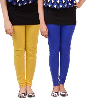 carrol Women's Blue, Yellow Leggings