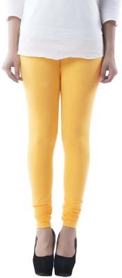 Meril Women,s Yellow Leggings