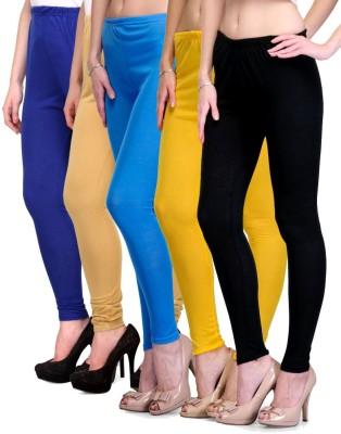 Rowena Women's Blue, Beige, Light Blue, Yellow, Black Leggings