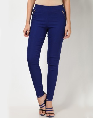 Royal Women's Dark Blue Jeggings
