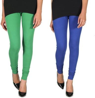 Ally Of Focker Women's Blue, Green Leggings