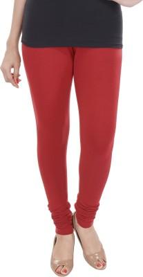 texvilla Women's Red Leggings