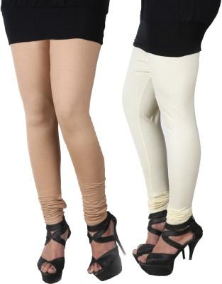 ROY Women's Grey, White Leggings