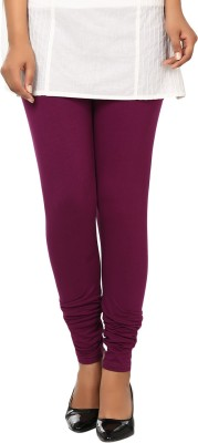 Haniya Womens Purple Leggings