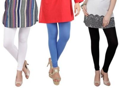 Prekrasna Women,s White, Blue, Black Leggings