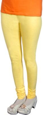 Radhika Garments Women's Yellow Leggings