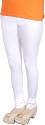 Radhika Garments Women's White Leggings