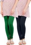 WellFitLook Women's Green, Blue Leggings...