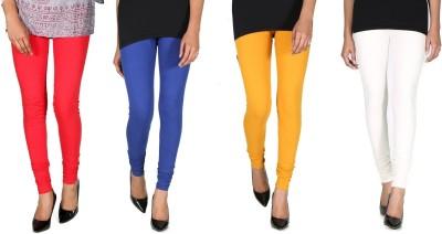 Ally Of Focker Women's Red, Blue, White, Yellow Leggings