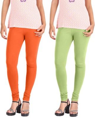 Hbhwear Women's Orange Leggings