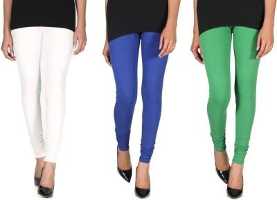 Ally Of Focker Women's Blue, Green, White Leggings