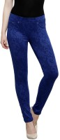 Westwood Women's Blue Jeggings best price on Flipkart @ Rs. 1119
