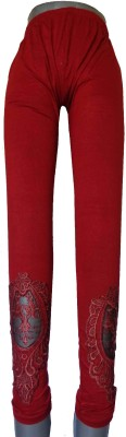 Good Life Stuff Women's Red Leggings