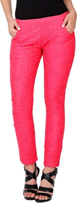 Eavan Women's Pink Jeggings at flipkart