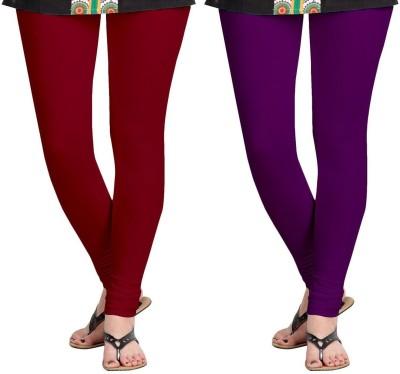 AF Sayonara Women's Purple, Maroon Leggings