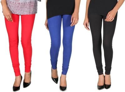 Ally Of Focker Women's Red, Blue, Black Leggings