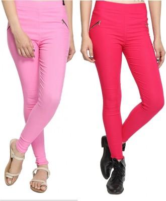 StyloFashionGarments Women's Pink, Pink Jeggings