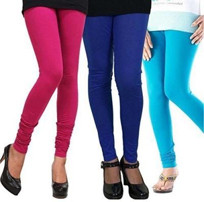 Lycra Women's Multicolor Leggings