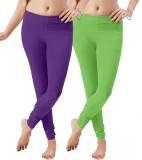 Ziwa Women's Multicolor Leggings (Pack o...