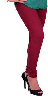 Chaklu Paklu Girl's Maroon Leggings