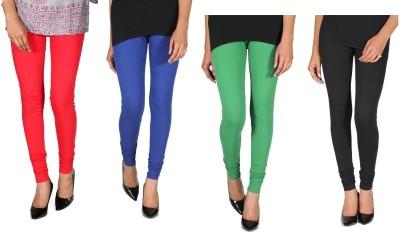 Ally Of Focker Women's Red, Blue, Black, Green Leggings