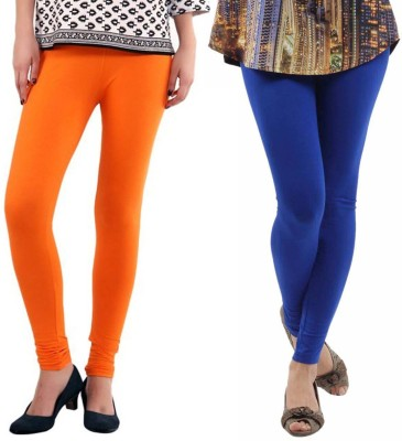 VP Vill Parko Women's Blue, Orange Leggings
