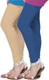 Fronex India Women's Beige, Blue Legging...