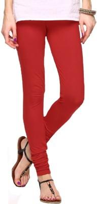 Shiv Fabs Women,s Red Leggings