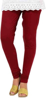 Sakal Enterprises Women's Maroon Leggings
