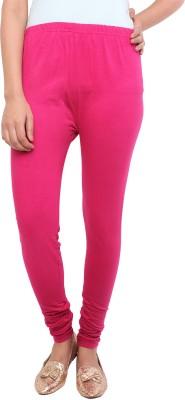 White Feather Women's Pink Leggings