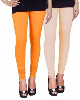 Ayesha Fashion Women's Yellow, Beige Leggings