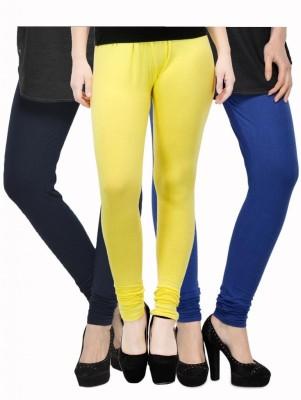 Kjaggs Women's Yellow, Dark Blue, Dark Blue Leggings