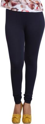 Lequeens Women's Blue Leggings
