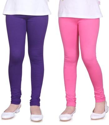 Sini Mini Girl's Purple, Pink Leggings