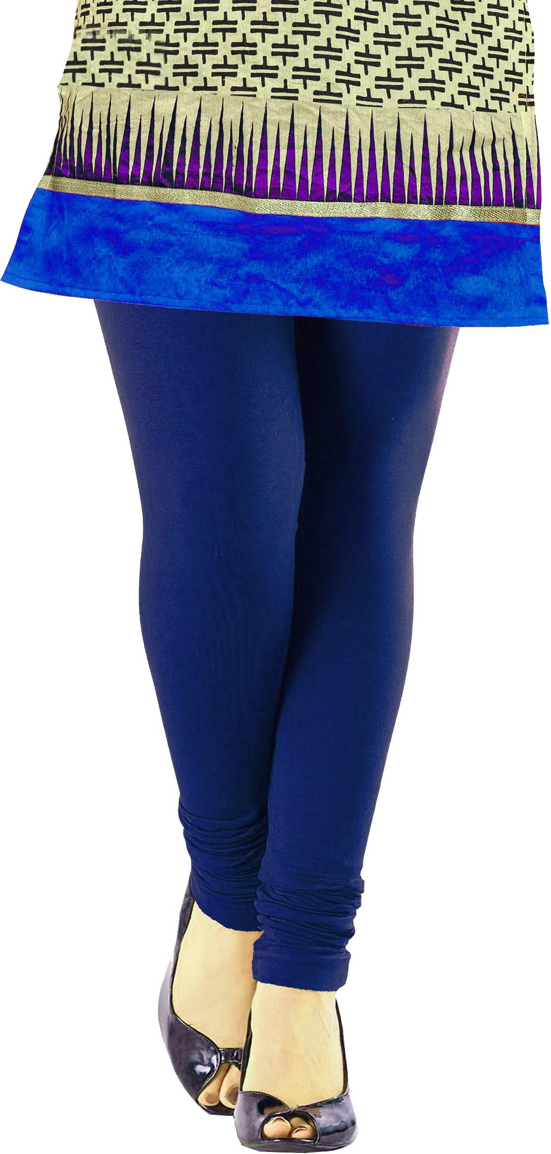 Khushali Womens Dark Blue Leggings