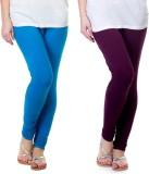 Famaya Gold Women's Blue, Purple Legging...