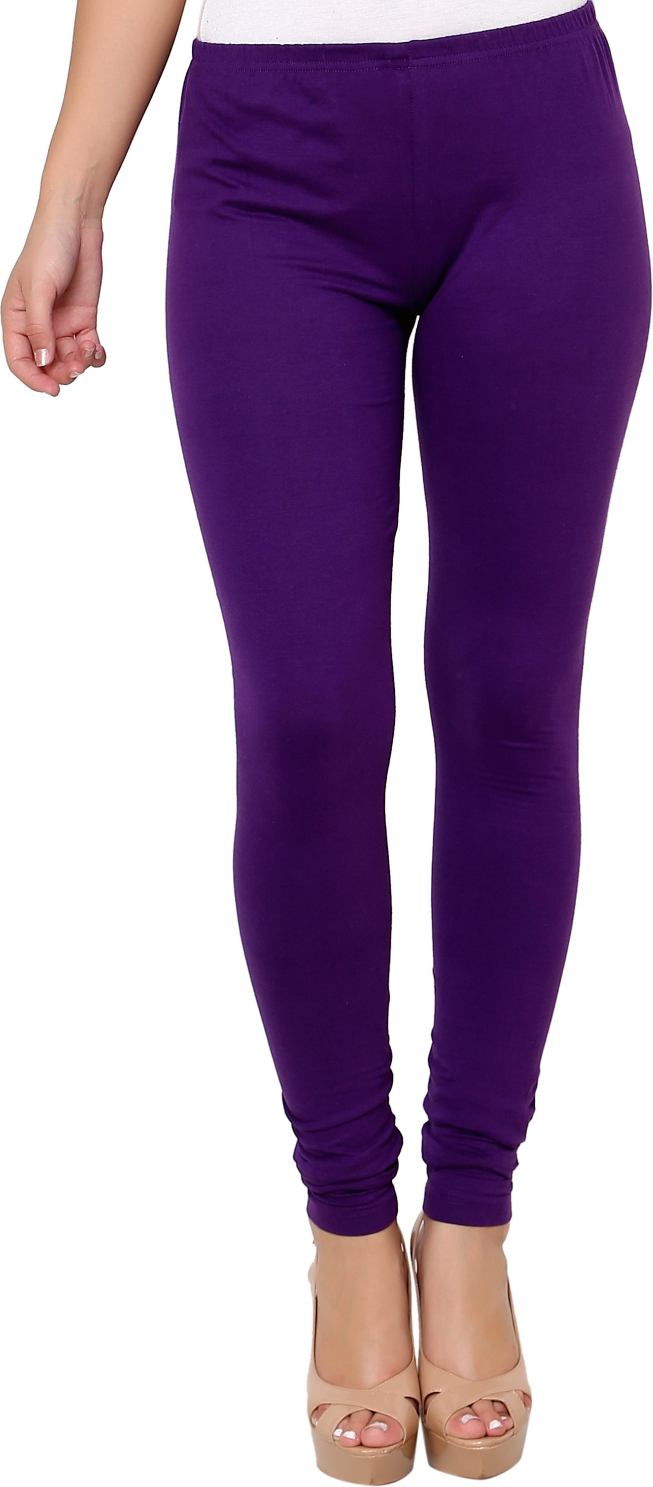 Leebonee Womens Purple Leggings