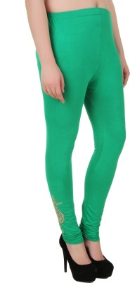 You Forever Women's Green Leggings