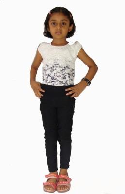 E2G Girl's Black Jeggings