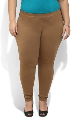 Amydus Women's Brown Jeggings