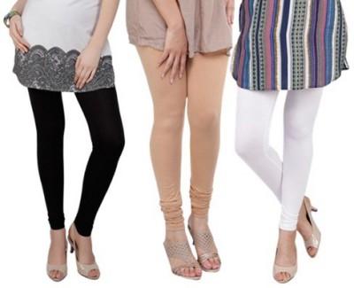Prekrasna Women,s Black, Gold, White Leggings