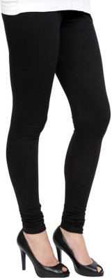 Chaklu Paklu Girl's Black Leggings