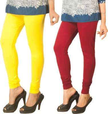 Berries Women's Yellow, Maroon Leggings