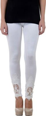 Numbrave Women's White Leggings