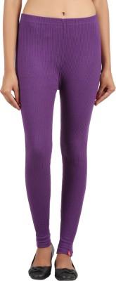 Notyetbyus Women's Purple Leggings