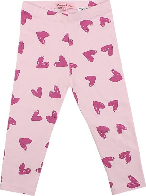 Crayon Flakes Girl's Pink Leggings