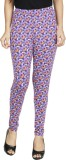 Anekaant Women's Purple, Multicolor Legg...