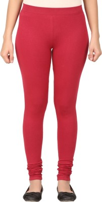 TECOT Women's Maroon Leggings
