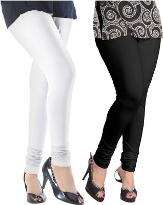 Baremoda Women's White, Black Leggings