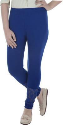 Beatific Women's Blue Leggings